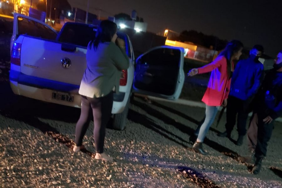 Mujeres alcoholizadas terminaron detenidas al intentar escapar de la Policía