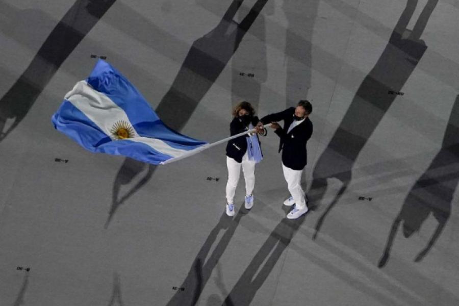 Sin público, se inaugura oficialmente los Juegos Tokio 2020