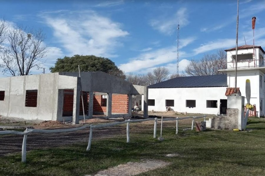 Aeroclub de Curuzú Cuatiá: La Provincia tiene avanzada su remodelación