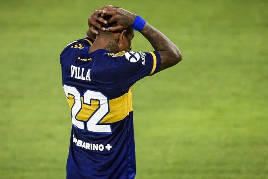 Villa pidió ser transferido de Boca: se espera una nueva oferta de Brujas
