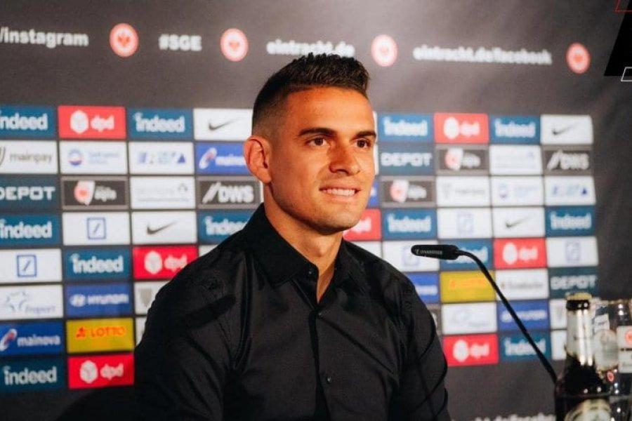Rafael Borré, presentado en Alemania: se acordó de River y Gallardo
