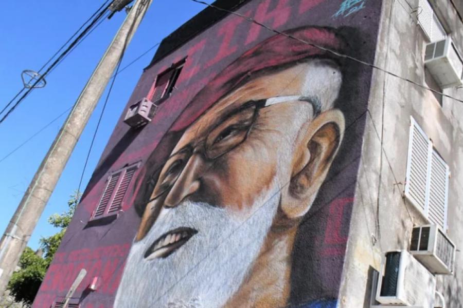 Museos a cielo abierto: Finalizaron tres de los doce murales del barrio Ferré