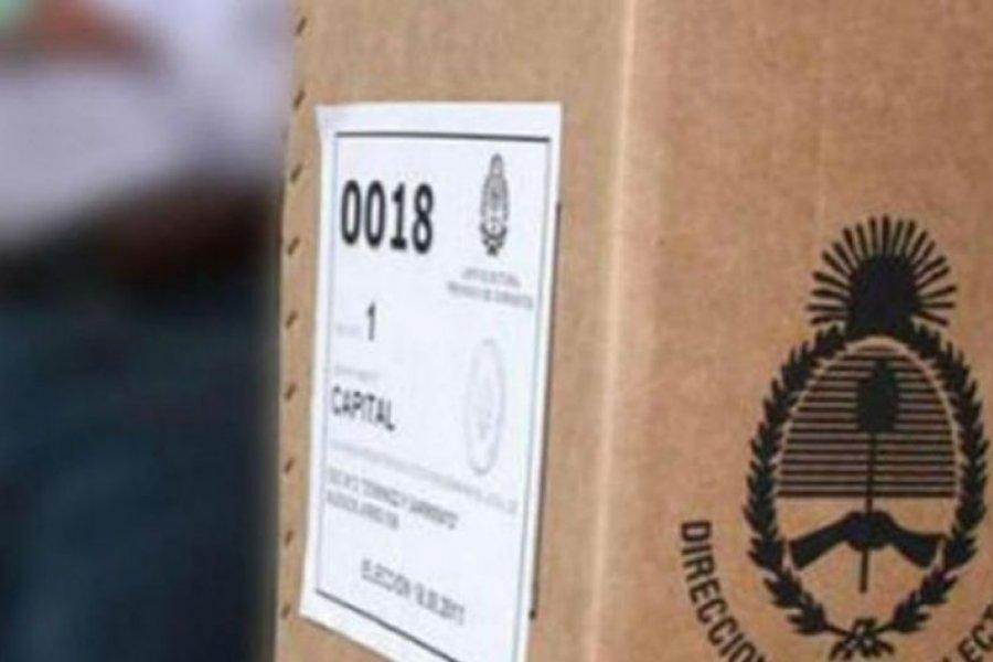 Corrientes: Hoy sábado cierran listas de las PASO