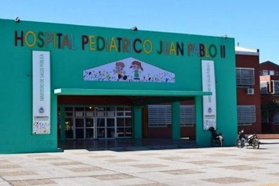 Corrientes: Confirman 3 pacientes con Covid en el Hospital Pediátrico