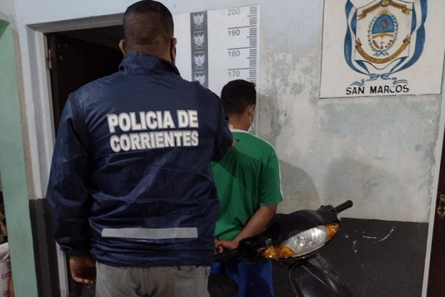 Intensos trabajos de seguridad y prevención de la Policía