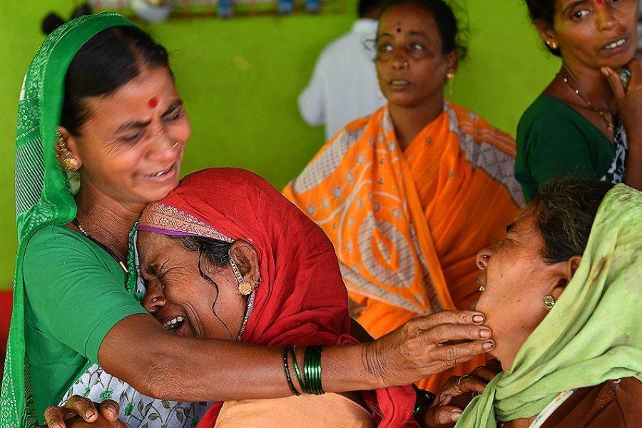 India: 115 muertos, desaparecidos y cerca de 150 mil evacuados por lluvias monzónicas