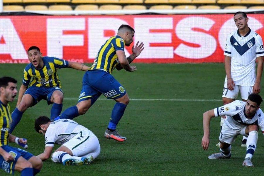 Rosario Central le ganó en la última jugada a Vélez por la Liga Profesional