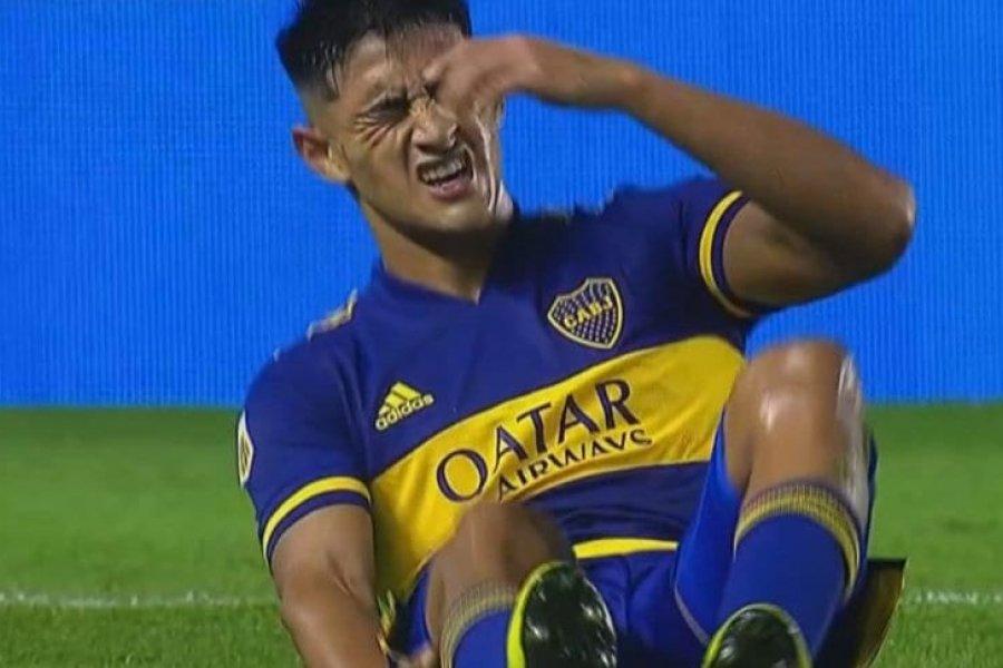 Más complicaciones para Boca: se lesionó Ezequiel Almirón y no estará ante San Lorenzo