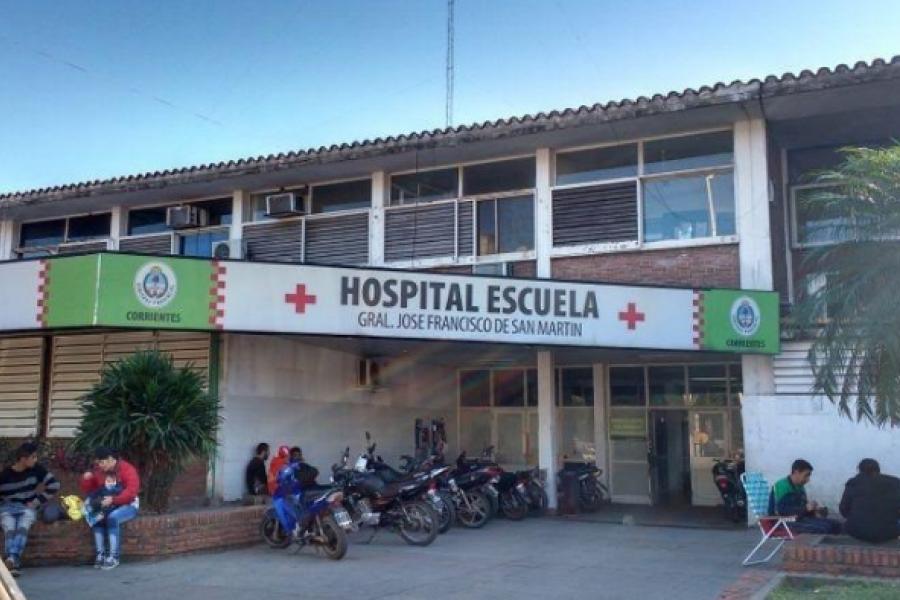 Violento fin de semana en Corrientes: 30 personas ingresadas al Hospital Escuela