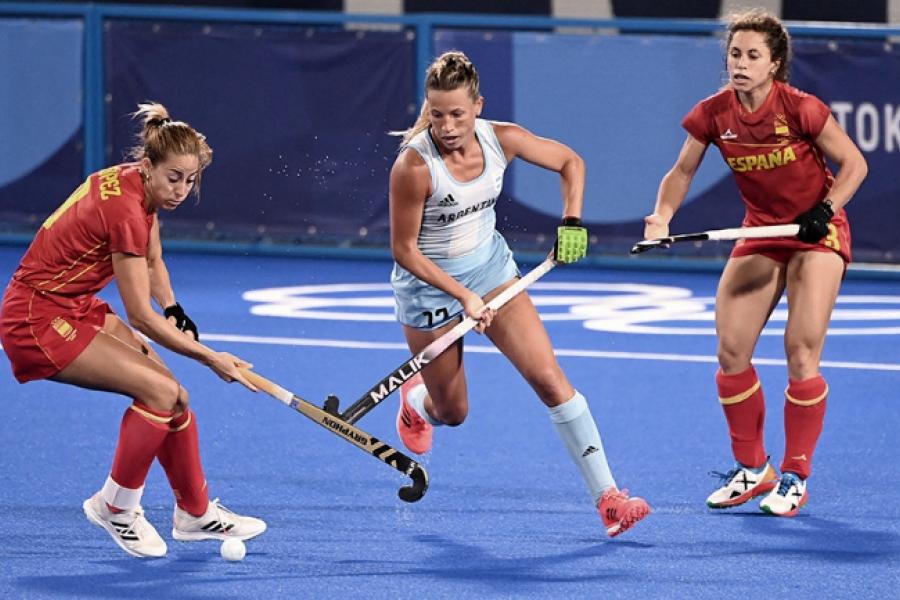 Las Leonas se impusieron a España en su segundo partido en Tokio 2020