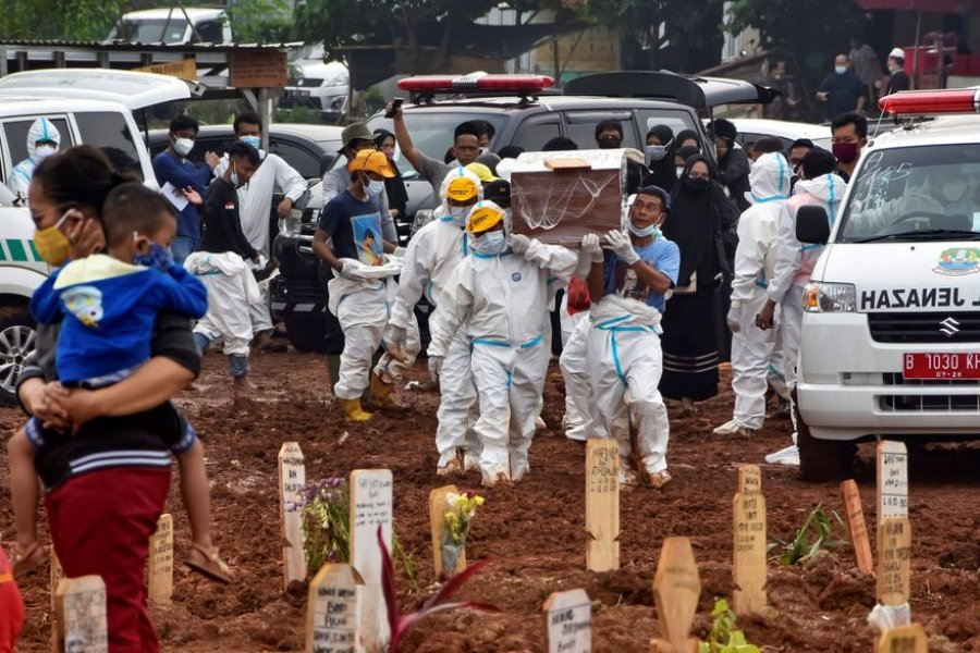 Indonesia tiene la tasa más alta de muertes de niños por Covid