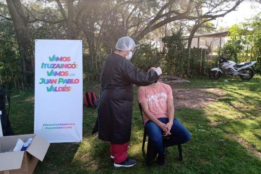 Hisopados y proselitismo oficial en Ituzaingó generan escándalo en las redes