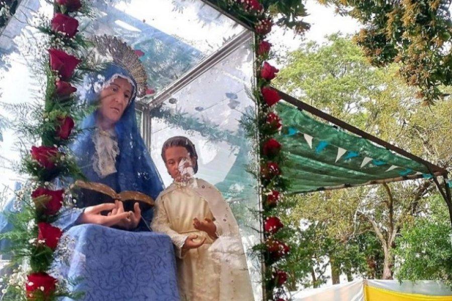 En las patronales de Santa Ana se rezó por los abuelos y la siembra