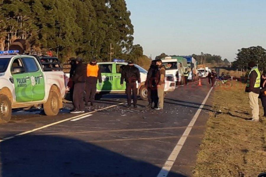 Monte Caseros: Dos motociclistas chocaron entre ellos y fallecieron