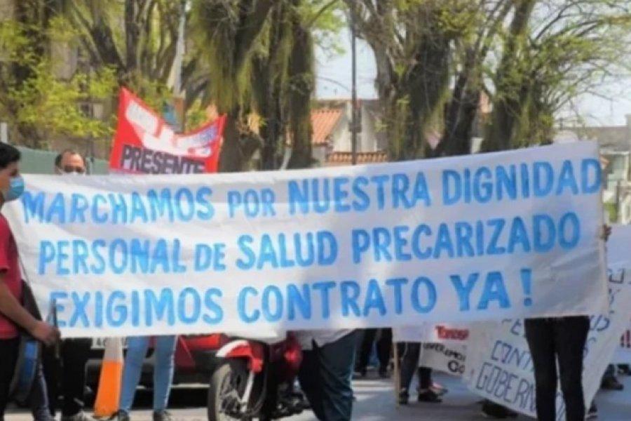 Corrientes: Personal de salud reclama regularización de su actividad