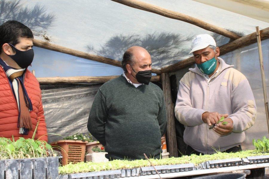 El Intendente y el Jefe de la AT Corrientes, visitaron a emprendedor beneficiario del PEI