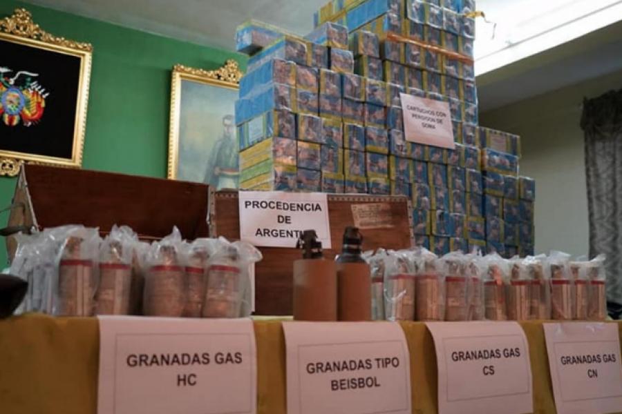 Para Soria, Macri y los demás acusados por contrabando de armas están hasta las manos