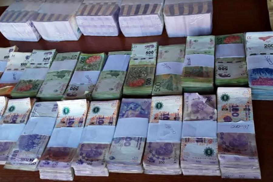 Robo en Saladas: Secuestran más de un millón de pesos