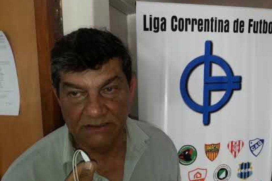 Murió el Presidente de la Liga Correntina de Fútbol