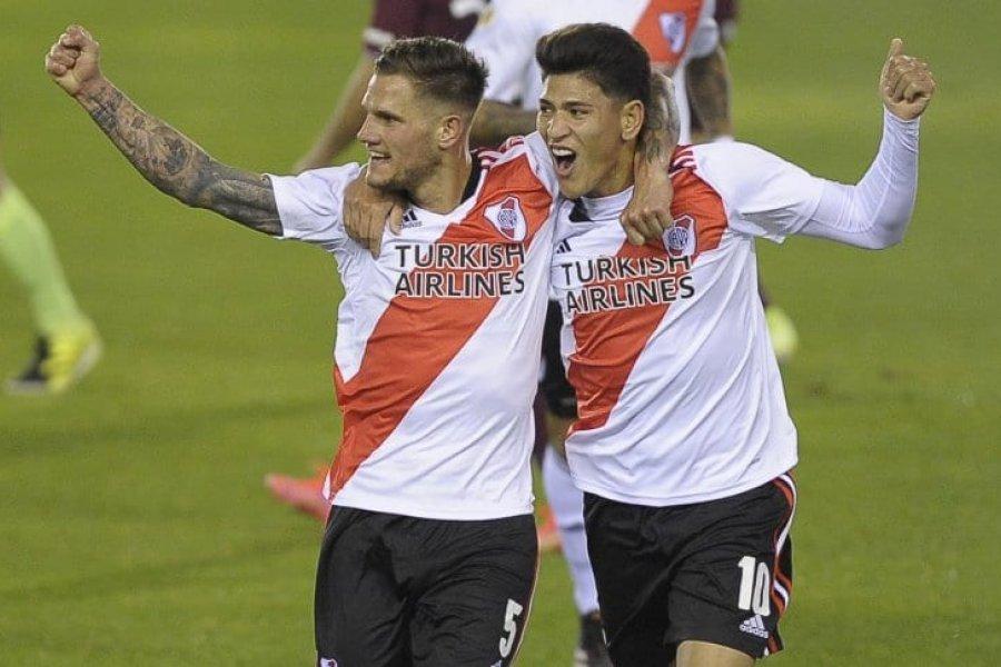 Liga Profesional: River goleó a Lanús en La Fortaleza