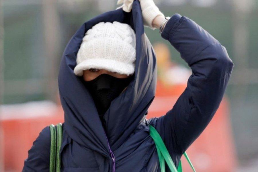 Frío polar en Corrientes: Amaneció con térmicas bajo cero