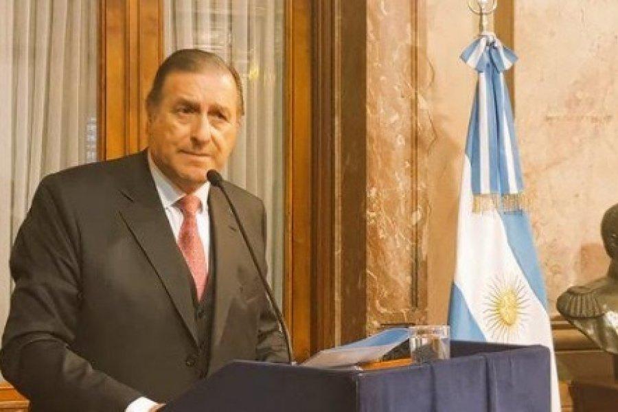 Rozas visitó a Valdés en la Gobernación en el marco electoral