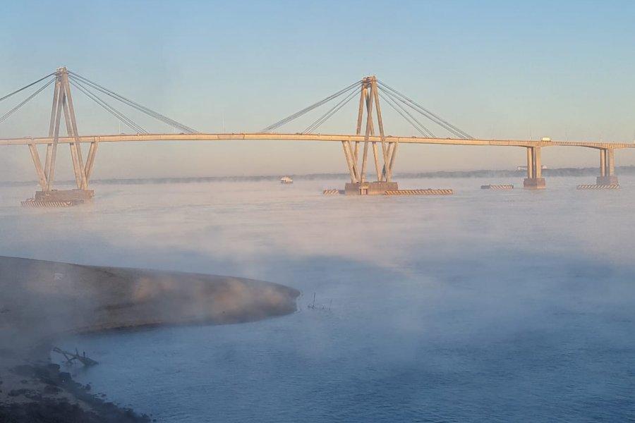 El día más frío del año: Imágenes de la helada en Corrientes