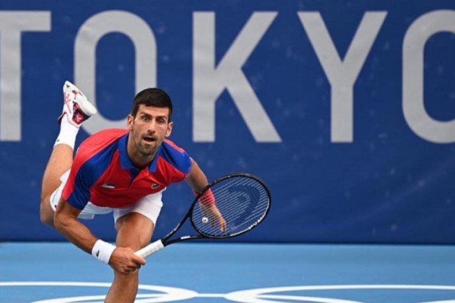 Djokovic avanzó a semifinales en los JJOO y sigue en carrera por el Golden Slam