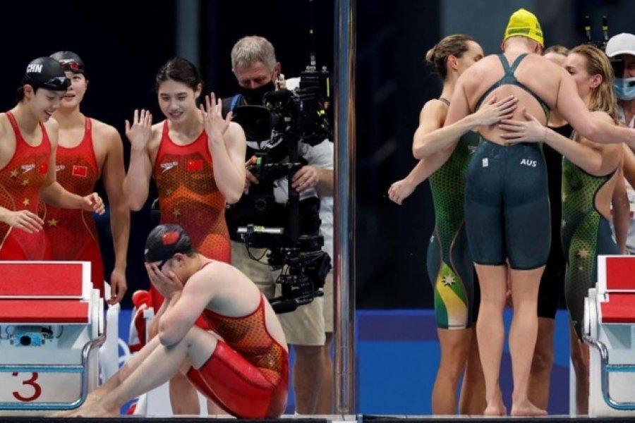 China sigue arriba en los Juegos Olímpicos de Tokio con 18 medallas de oro