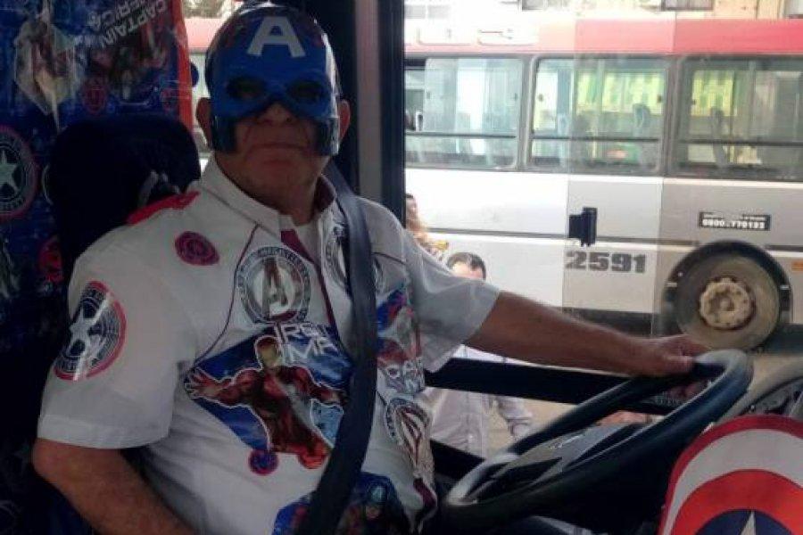 Dolor en Corrientes por la muerte del chofer que se disfrazaba de superhéroe para alegrar a los niños