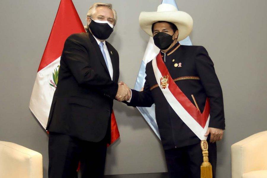 Tras regresar de Perú, el presidente Alberto Fernández quedó aislado de manera preventiva