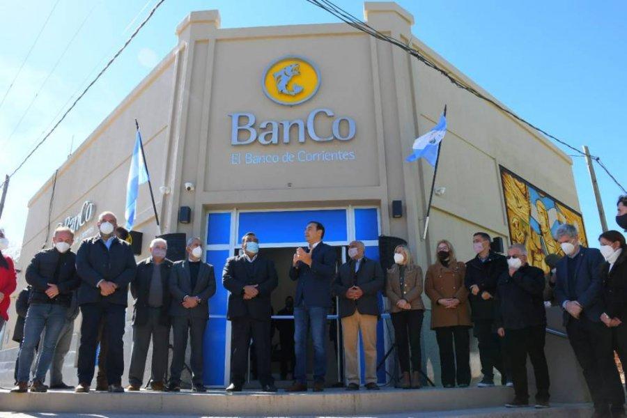 El Banco de Corrientes inauguró una moderna sucursal