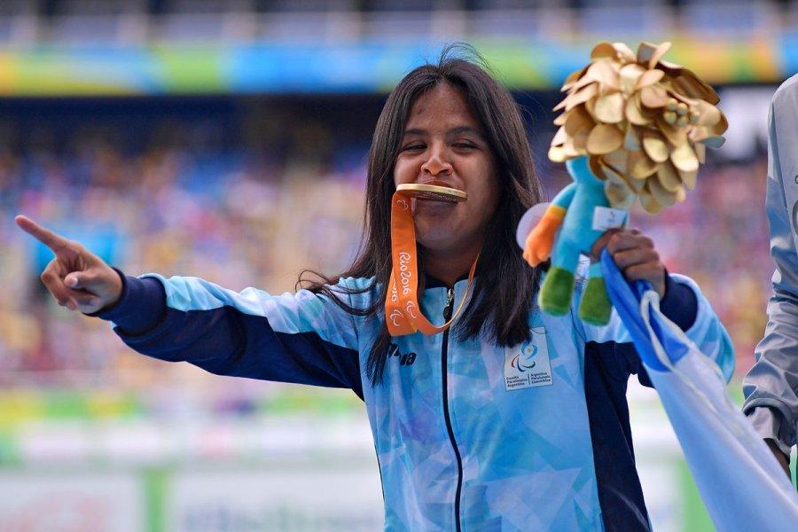 Yanina Martínez será la abanderada argentina en los Juegos Paralímpicos