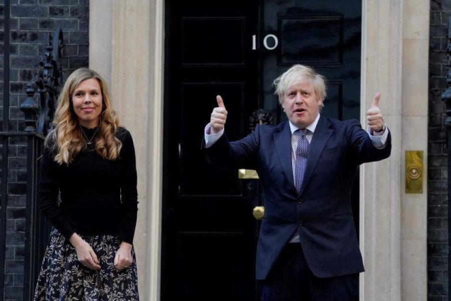 Boris Johnson será padre por sexta vez