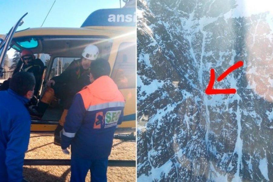 Rescatan a andinistas que estuvieron dos días desaparecidos