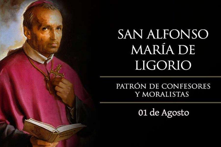 La Iglesia católica celebra hoy a San Alfonso María de Ligorio