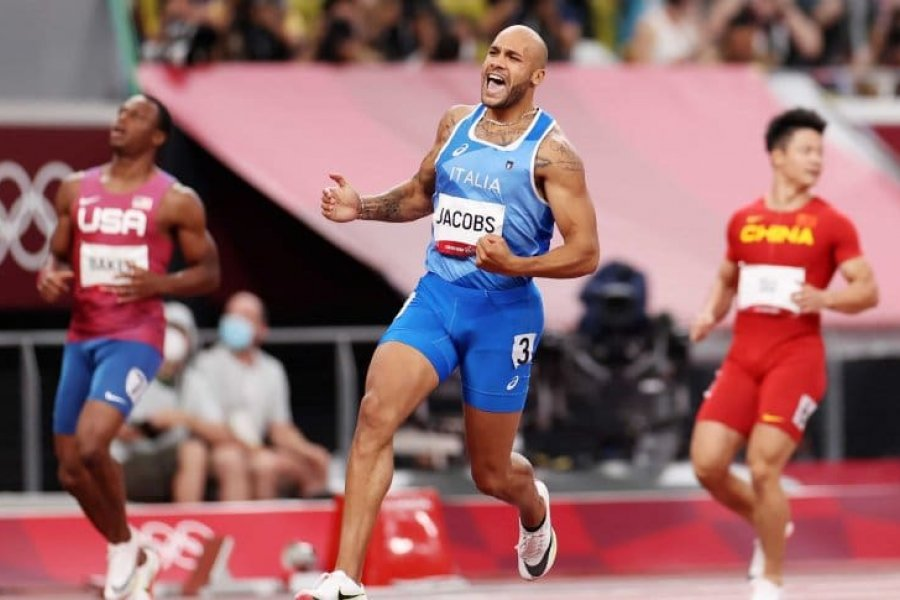 El italiano Jacobs es el nuevo rey de los 100 metros
