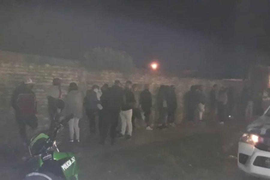 25 demorados en una fiesta clandestina en Capital