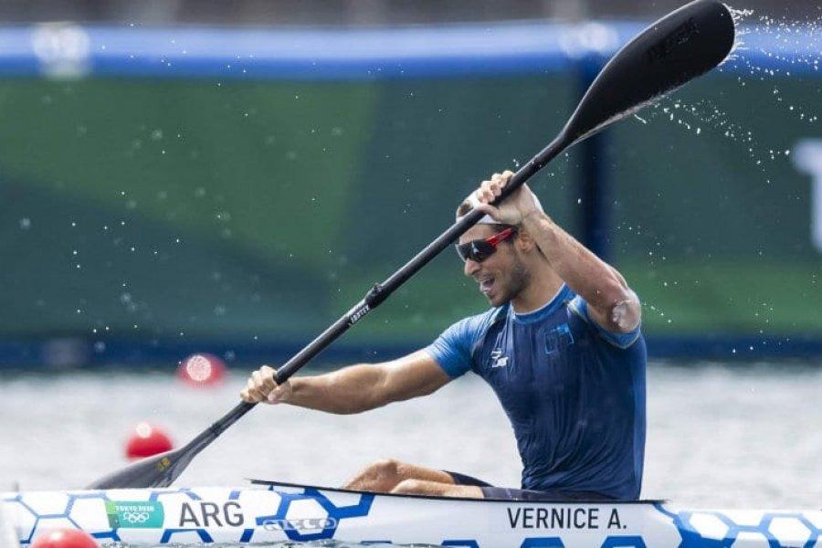 Vernice, a la final del K1 de 1000 metros en los Juegos Olímpicos de Tokio 2020