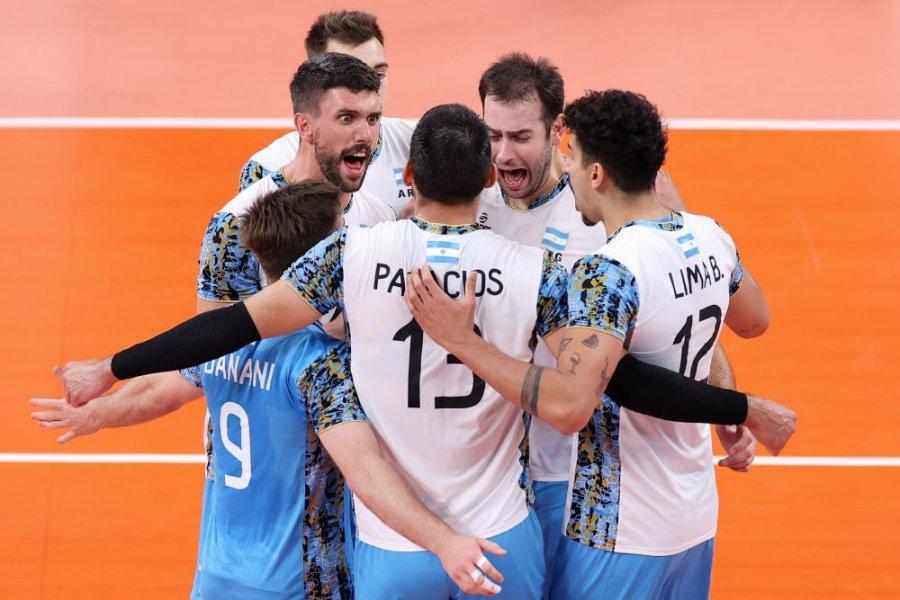 La Selección de vóley venció a Italia y logró una histórica clasificación