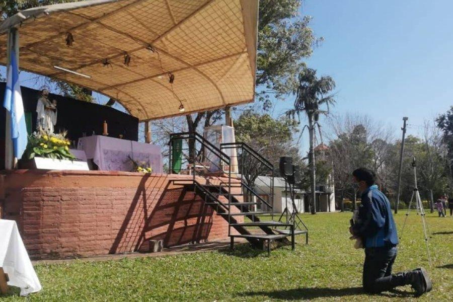 Proponen una peregrinación radial y virtual a San Cayetano