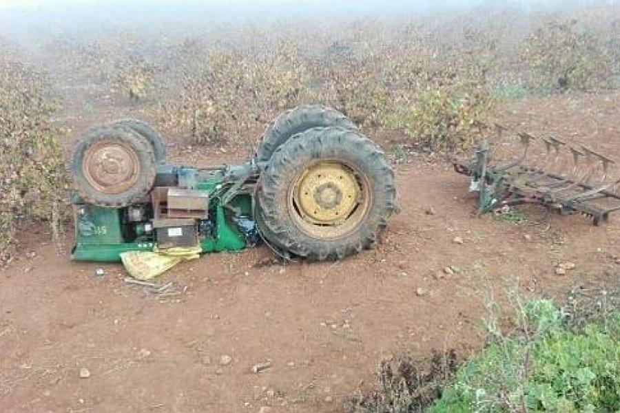 Tragedia en Corrientes: Un hombre murió aplastado por un tractor