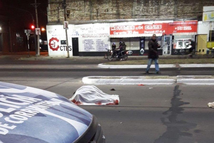 Un motociclista murió en un trágico accidente en Corrientes