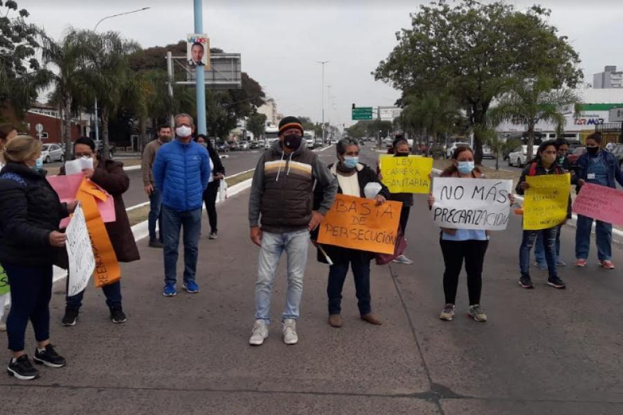 Santo Tomé: El reclamo de personal sanitario llegó al Gobernador