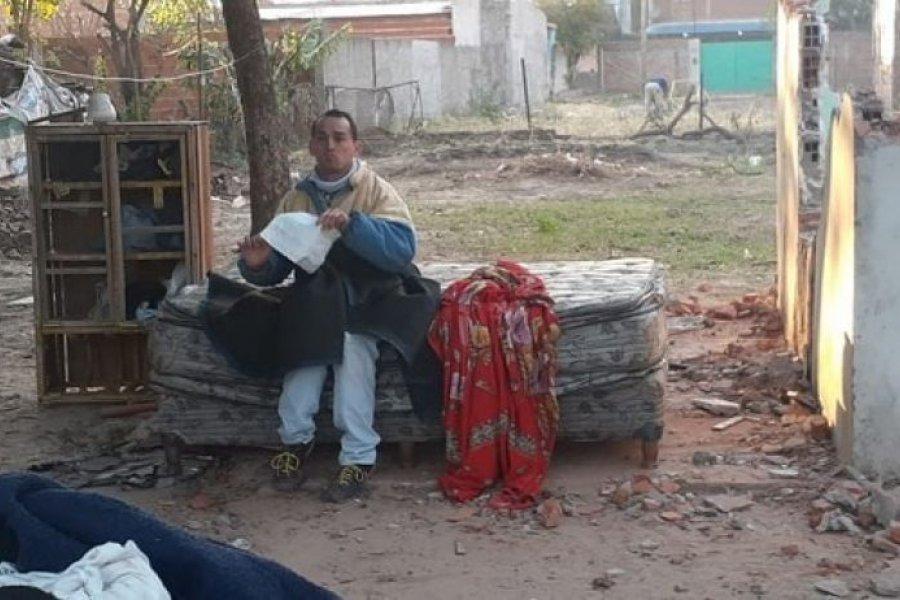 Desgarrador desalojo de una persona con discapacidad en Corrientes: ¿Dónde voy a vivir?