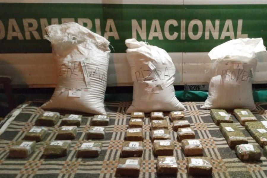 Chaco: Un pasajero trasladaba más de 10 kilos marihuana en bolsas con especias