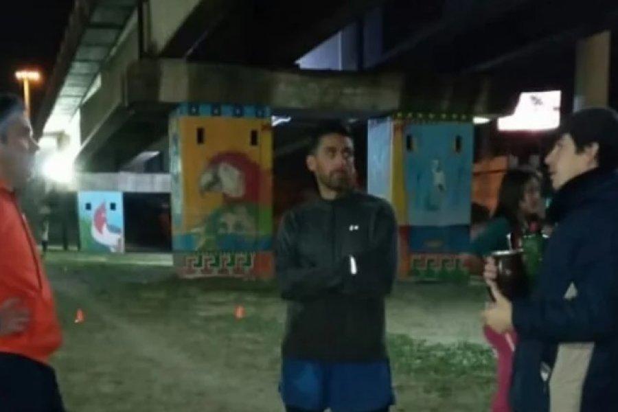 Corrientes: entrenaban bajo el puente y les robaron