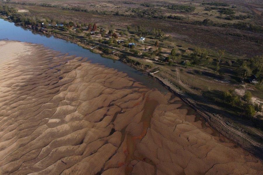 Preocupa la bajante del río Paraná, que ya alcanzó un mínimo histórico
