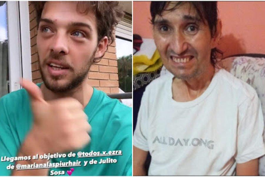 La AFIP trabó la donación que consiguió Matarea para Julio Sosa