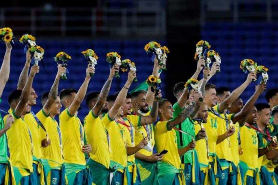 Brasil venció a España y se quedó con la dorada en fútbol masculino